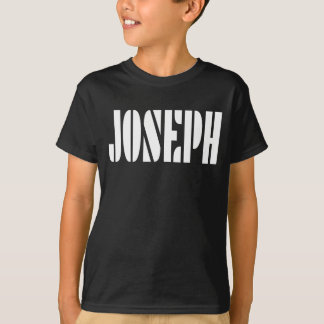 Joseph Name T-shirt