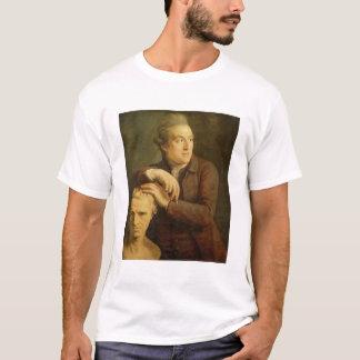 Joseph Nollekens (1737-1823) with his bust of Laur T-Shirt