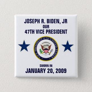 Joseph R. Biden, Jr 2 Inch Square Button