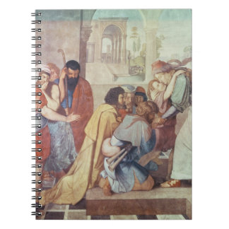 Joseph recognised by his brothers spiral note book