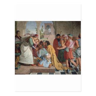 Joseph Reveals Himself to His Brothers - Cornelius Postcard