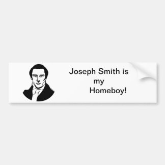 Joseph Smith Bumper sticker