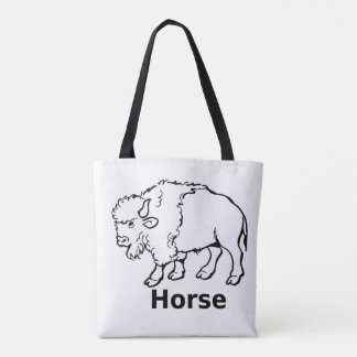 Joseph Smith's horse tote bag