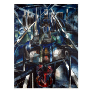 Joseph Stella Brooklyn Bridge Postcard