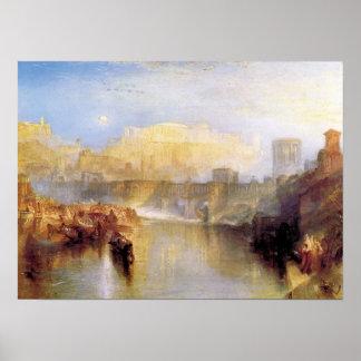 Joseph Turner - Ancient Rome Poster