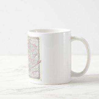 JosephHutchinsColtonMapKentuckyTennessee Coffee Mug