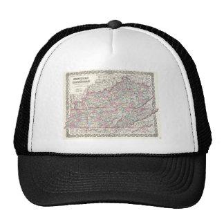 JosephHutchinsColtonMapKentuckyTennessee Trucker Hat