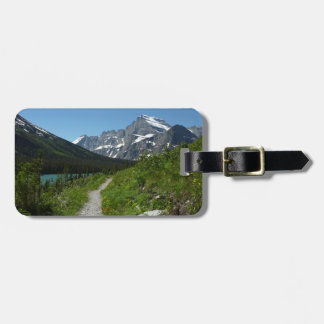 Josephine Lake Trail with Mount Guild at Glacier Luggage Tag