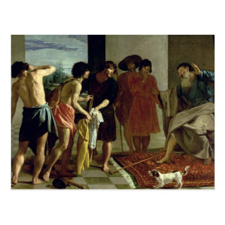 Joseph's Coat, 1630 Postcard