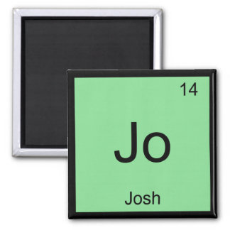 Josh  Name Chemistry Element Periodic Table Square Magnet
