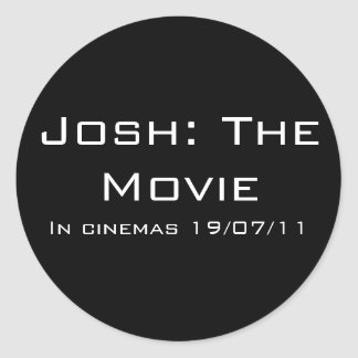 Josh: The Movie Sticker