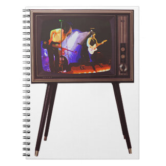 Josh West Live Design Spiral Notebook