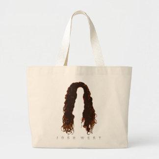 Josh's Hair Design Large Tote Bag