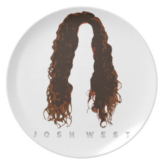 Josh's Hair Design Plate
