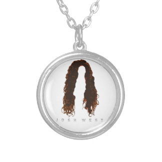 Josh's Hair Design Silver Plated Necklace