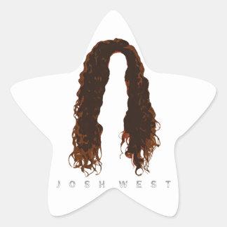 Josh's Hair Design Star Sticker