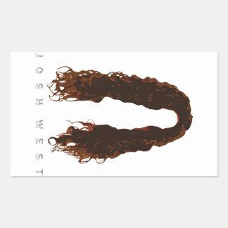Josh's Hair Design Sticker