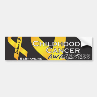 Joshua 1:9 | Be Brave Bumper Sticker