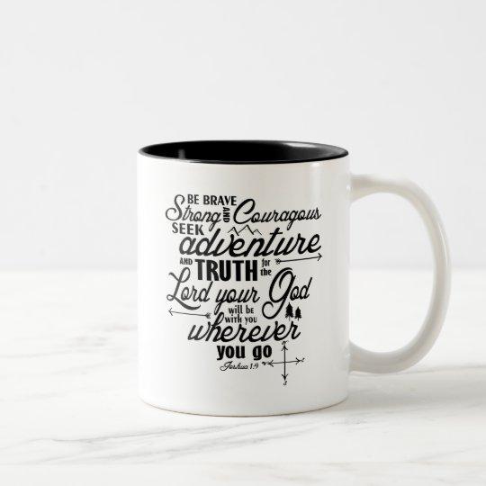 Joshua 1:9 Bible Verse Mug