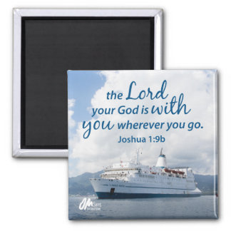 Joshua 1:9 Magnet