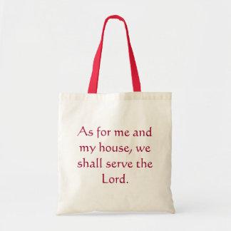 joshua 24 tote Serve the Lord