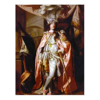Joshua Reynolds- Charles Coote, Earl of Bellamont Postcard