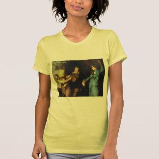 Joshua Reynolds-Garrick Between Tragedy and Comedy Tee Shirts