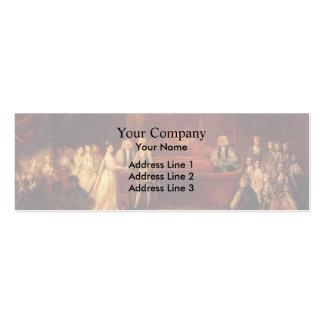 Joshua Reynolds- George III Business Card Template