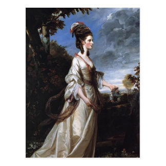 Joshua Reynolds- Jane, Countess of Harrington Postcard