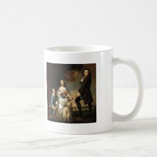 Joshua Reynolds- Thomas & Martha Neate, with Tutor Basic White Mug