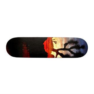 joshua sunset skateboard decks