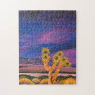 Joshua tree at Dusk Puzzle