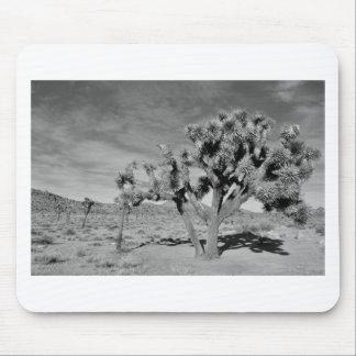 Joshua Tree (black & white) Mouse Pad