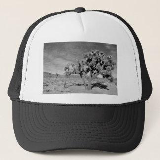 Joshua Tree (black & white) Trucker Hat
