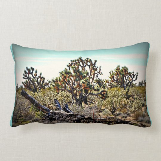 Joshua Tree Forest Throw Pillow