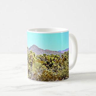 Joshua Tree in Mountains Coffee Mug