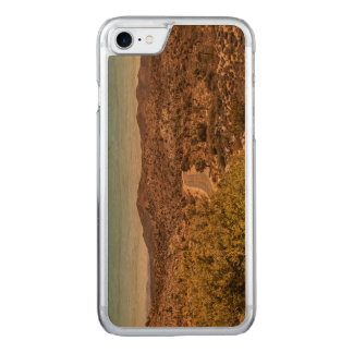 Joshua tree lonely desert road carved iPhone 8/7 case
