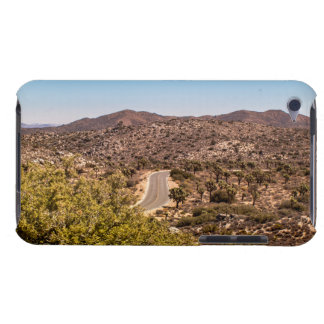 Joshua tree lonely desert road Case-Mate iPod touch case