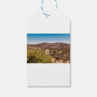 Joshua tree lonely desert road gift tags
