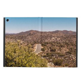 Joshua tree lonely desert road iPad air case