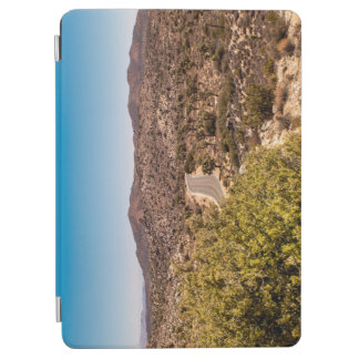 Joshua tree lonely desert road iPad air cover