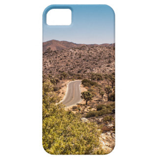 Joshua tree lonely desert road iPhone 5 covers