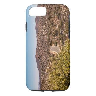 Joshua tree lonely desert road iPhone 8/7 case