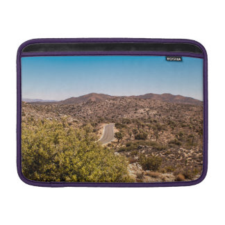 Joshua tree lonely desert road MacBook sleeve