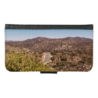 Joshua tree lonely desert road samsung galaxy s6 wallet case
