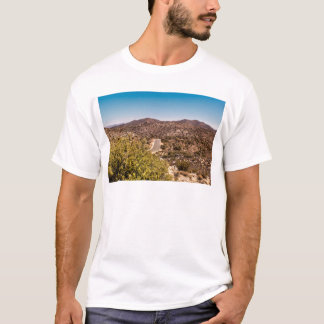 Joshua tree lonely desert road T-Shirt