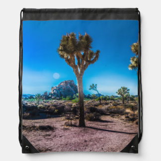 Joshua Tree National Park California Drawstring Bag
