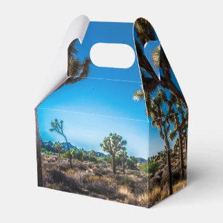 Joshua Tree National Park California Favor Boxes