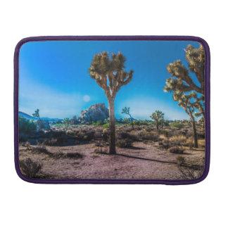 Joshua Tree National Park California Sleeve For MacBooks