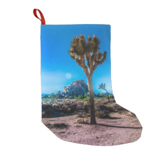 Joshua Tree National Park California Small Christmas Stocking